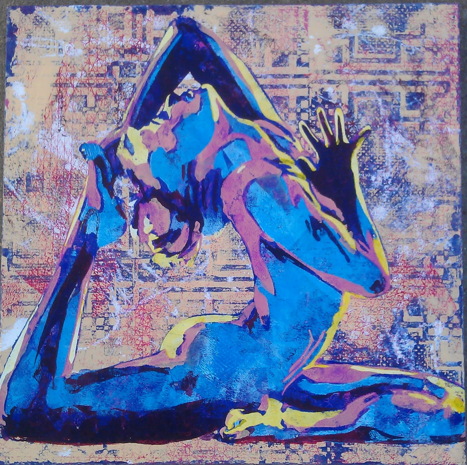yoga pose art ATGa6hqT