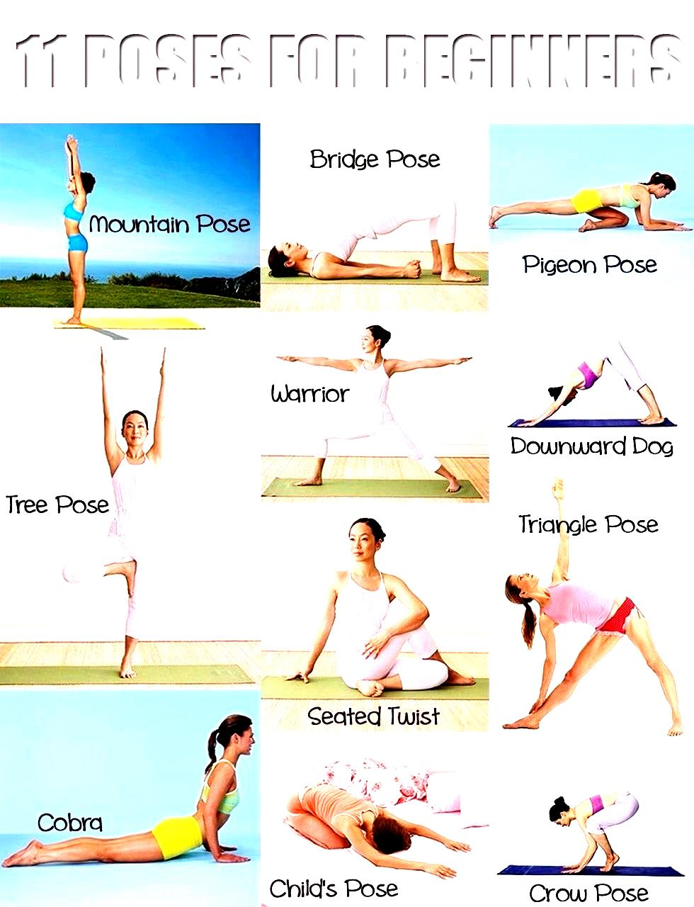 All Yoga Poses And Names Bing Images