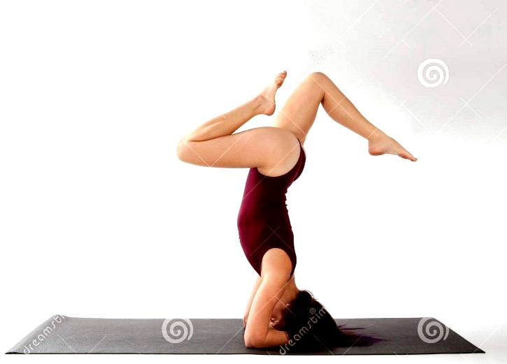 Headstand Yoga Pose Variation Image