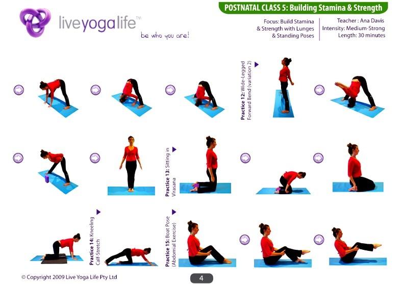 Postnatal Yoga Complete Set
