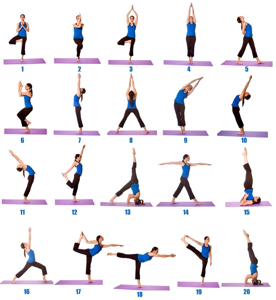 Simple Yoga Poses For Beginners - Work Out Picture Media ...