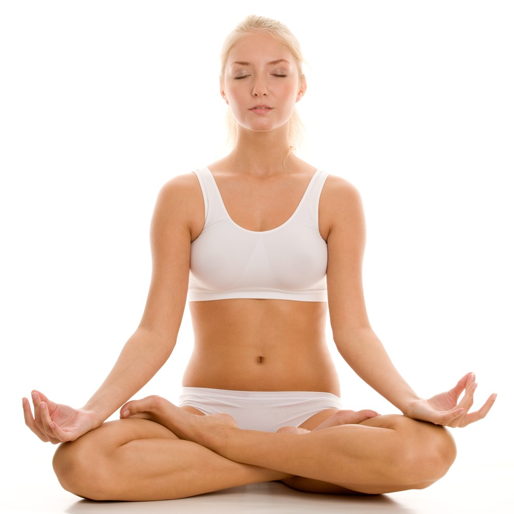 Yoga Meditation Poses Work Out Picture Media Work Out