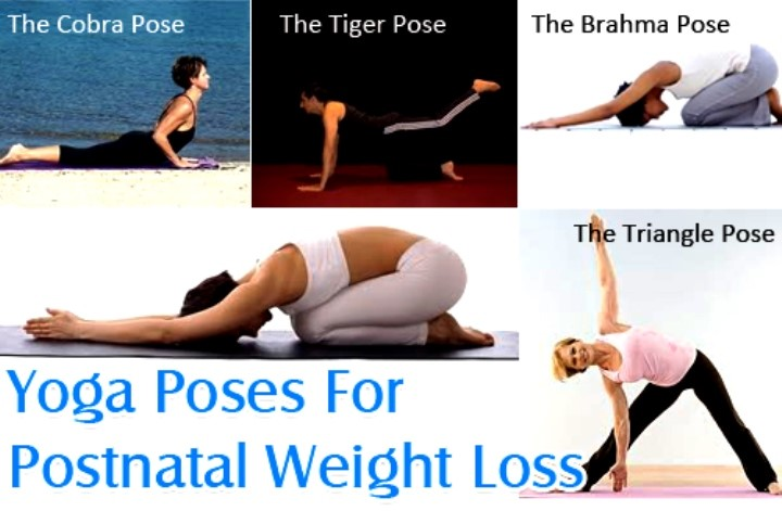 weight loss yoga images poses