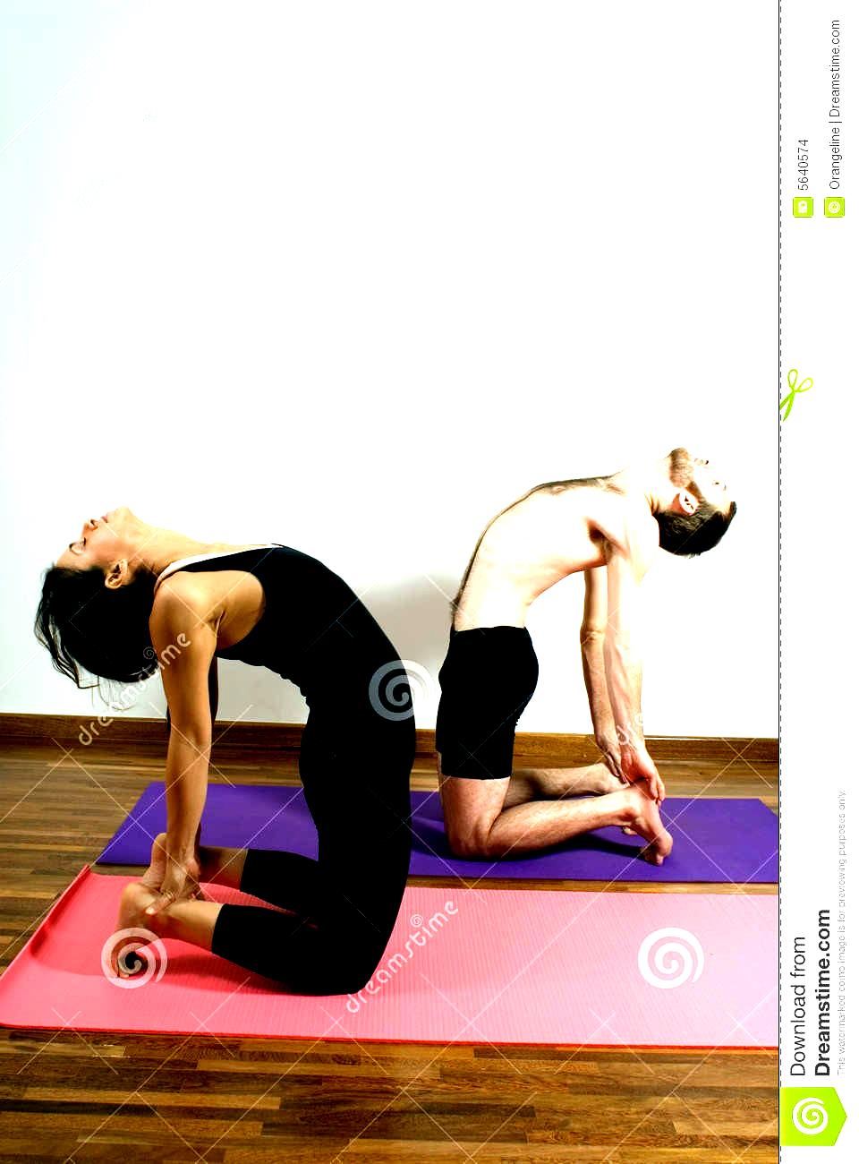 Yoga Poses For Two People - Work Out Picture Media - Work ...