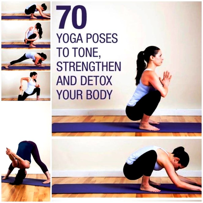 Yoga Poses to Tone Strengthen and Detox Your Body