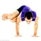 Side Crane (Crow) Pose – Yoga Poses