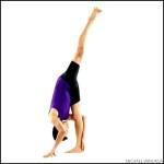 Standing Split – Forward Bend Yoga Poses