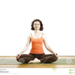 Seated Yoga Pose