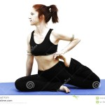 Yoga Pose Sitting
