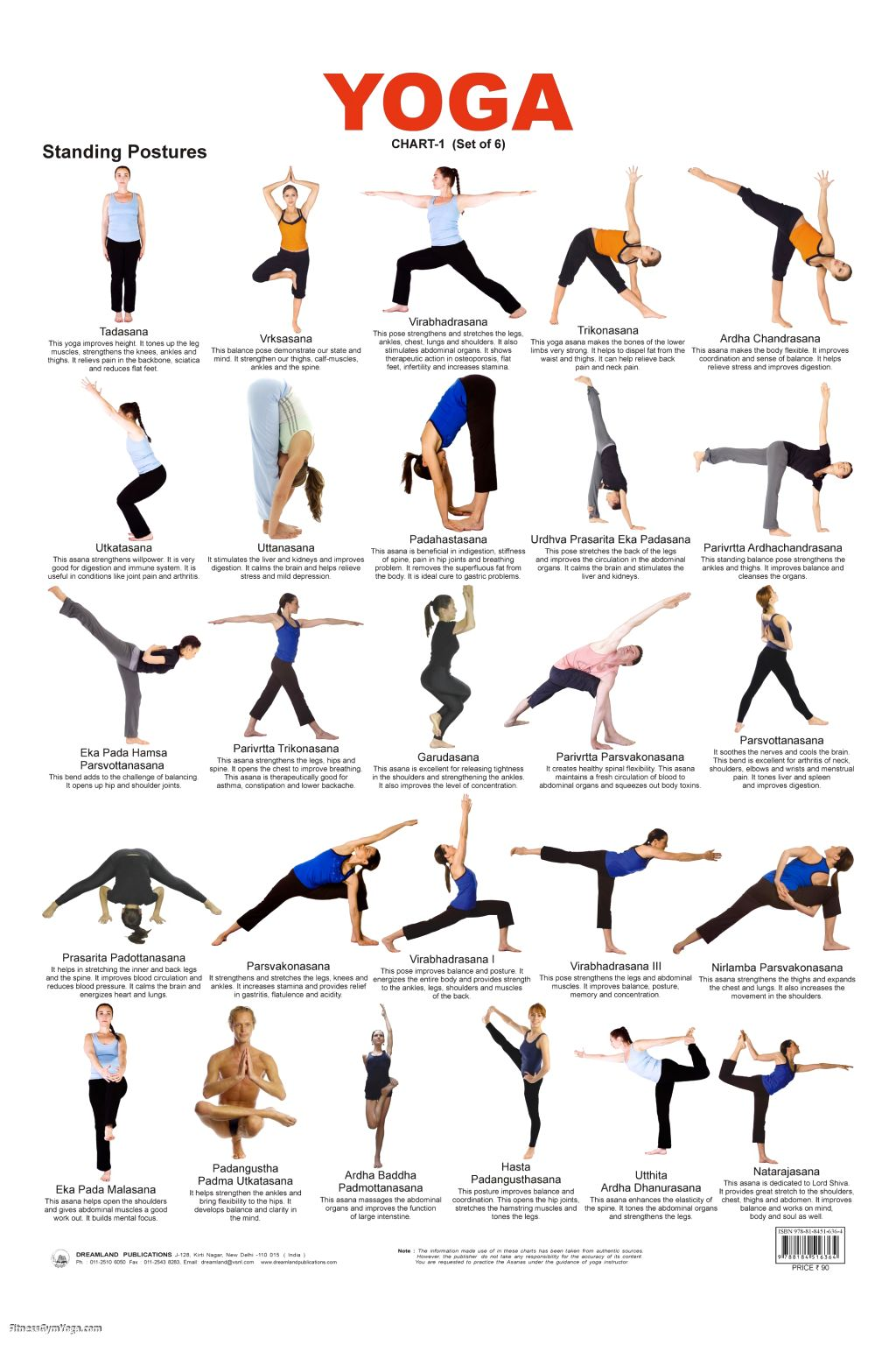all yoga poses with names