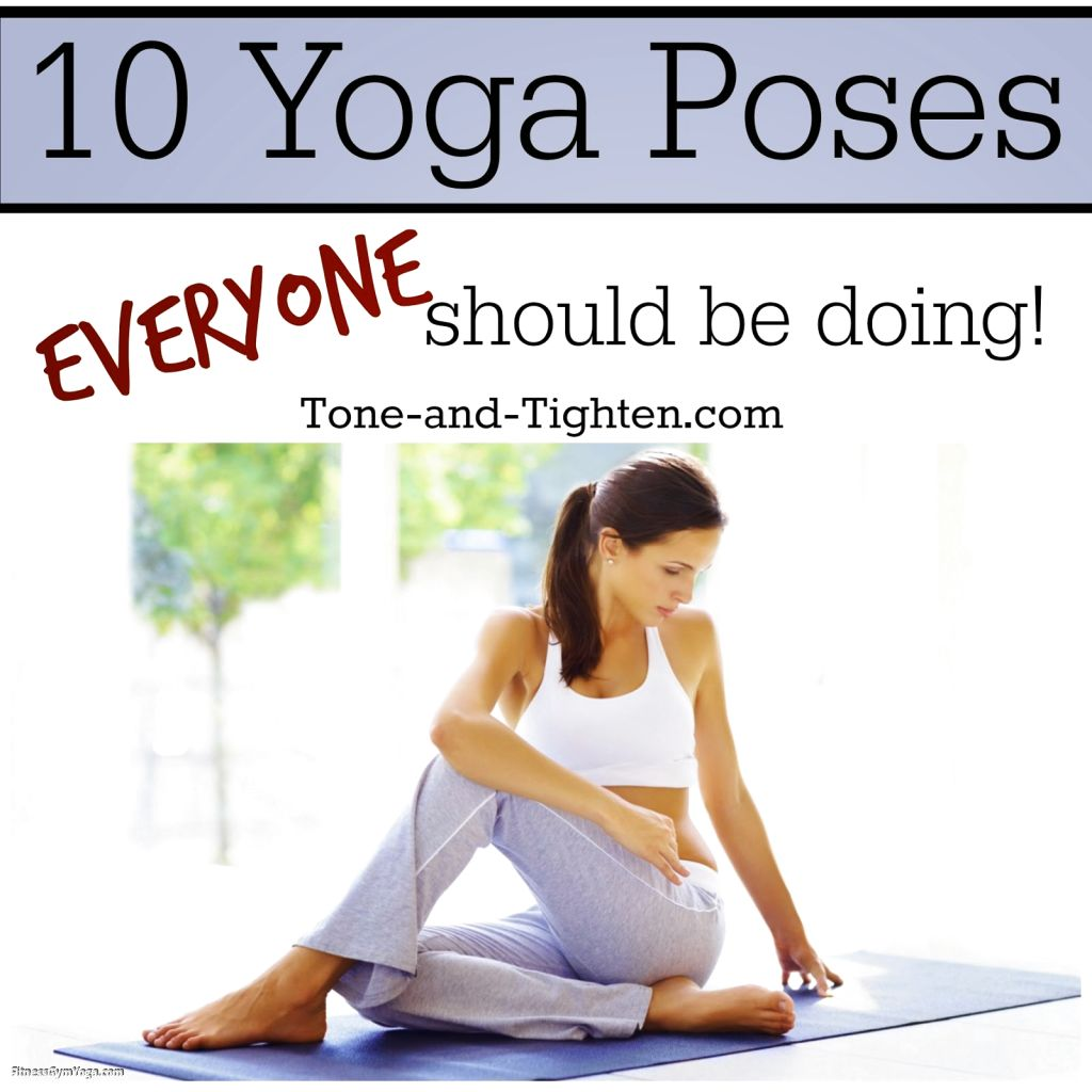 Names Of Yoga Poses For Beginners | Work Out Picture Media