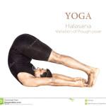 Halasana Yoga Pose