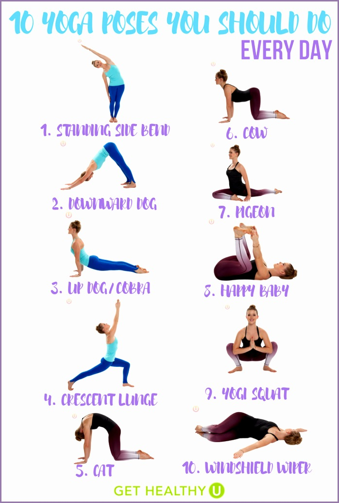 10 Yoga Poses Kcckhx Fresh 10 Yoga Poses You Should Do Every Day