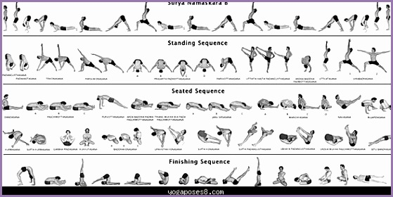 awesome Ashtanga yoga postures