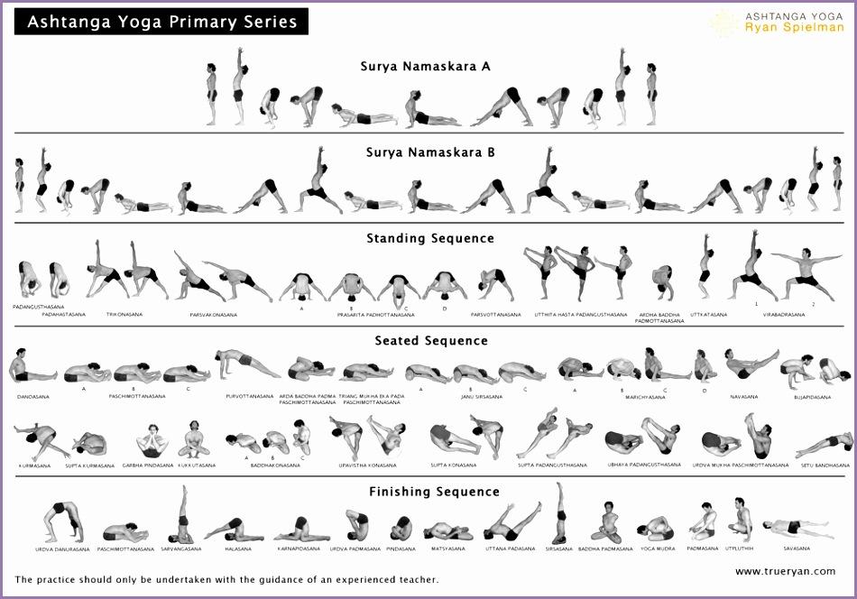 Download the Primary Series chart FREE Ashtanga Yoga with Ryan Spielman