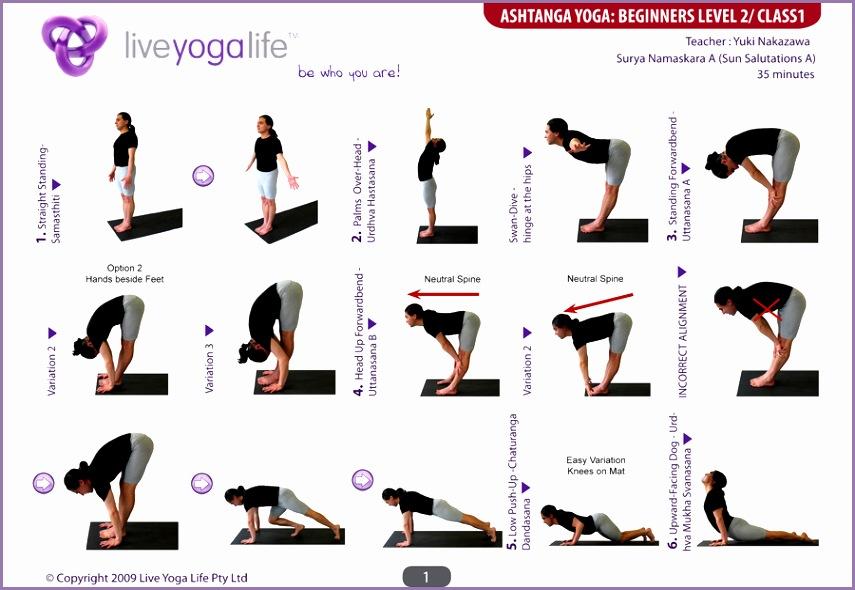 Ashtanga Yoga Class 1 1