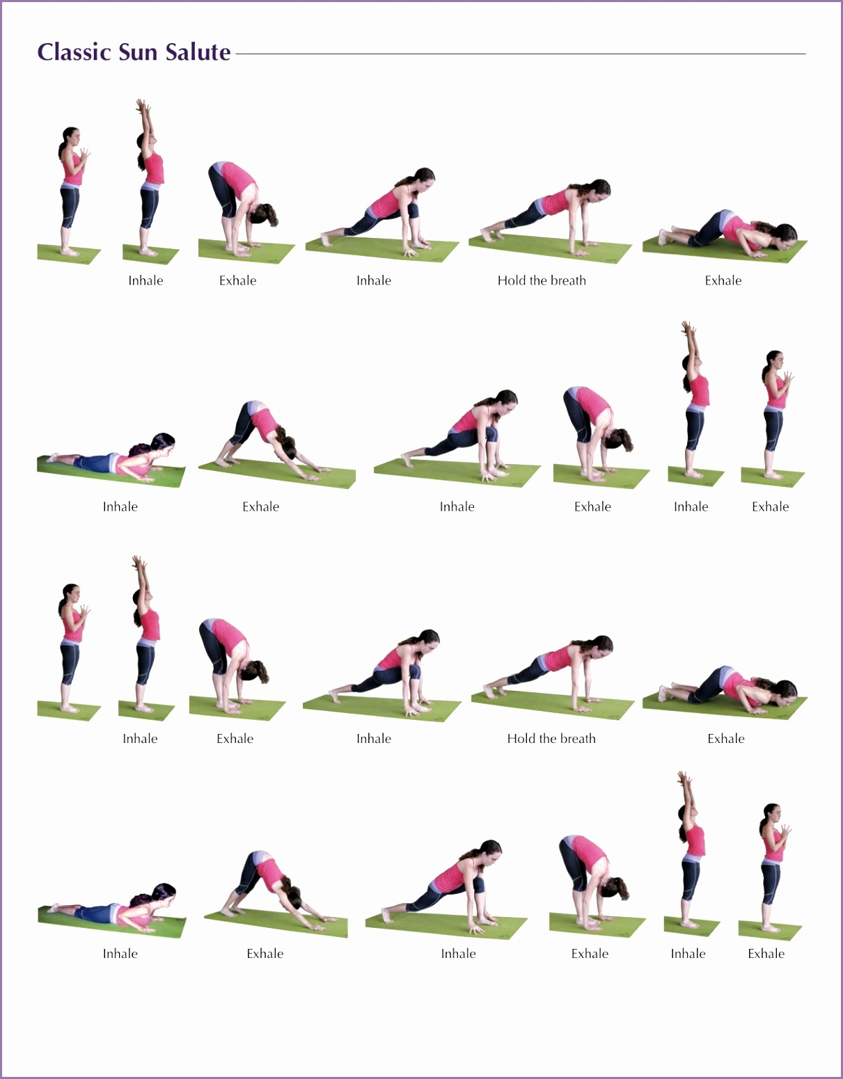 Classic Yoga Poses L1fm4q Luxury Classic Sun Salutation Yoga Pinterest