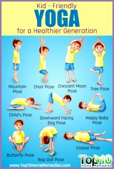 10 Easy To Do Yoga Poses for Kids by top10homereme s Yoga Kids