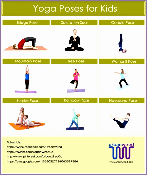 Yoga poses for kids poses