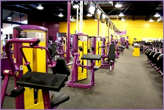 Planet Fitness Gym Equipment