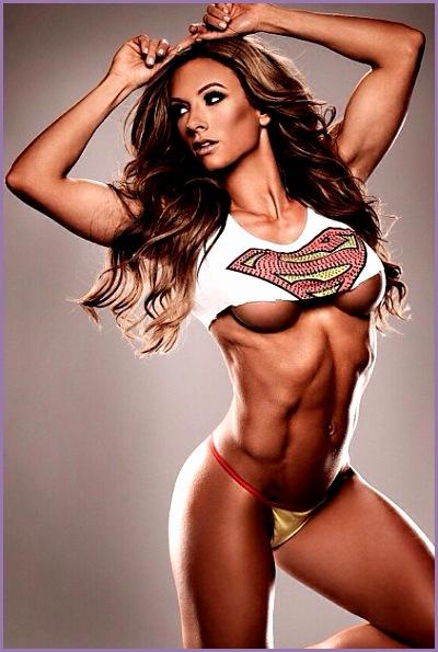 famous female fitness models