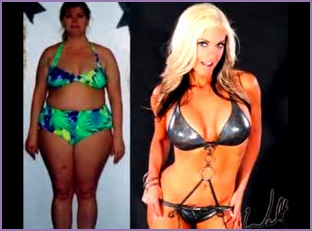 Amazing FEMALE fitness before & after transformations Motivational New Years resolution