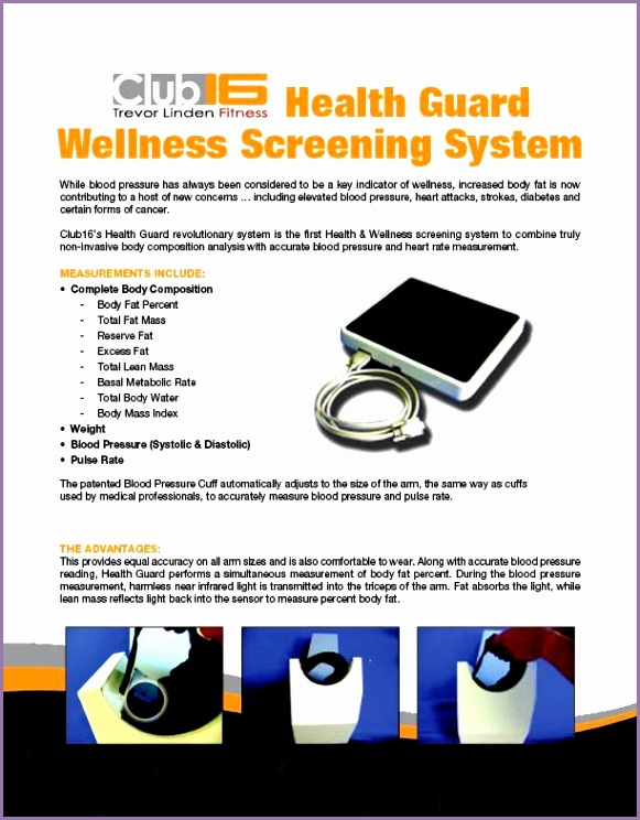 CA D C16 Health Guard wellness flyer
