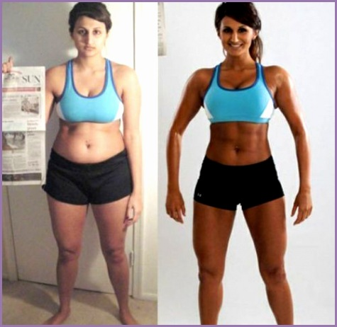 women before after losing weight 13 Women shedding the lbs is more than a little