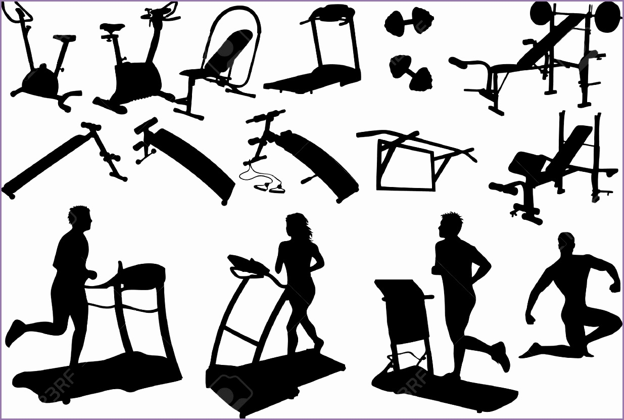 fitness center clipart 1