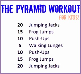 A fun workout for kids and families from Beth Kids Exercises