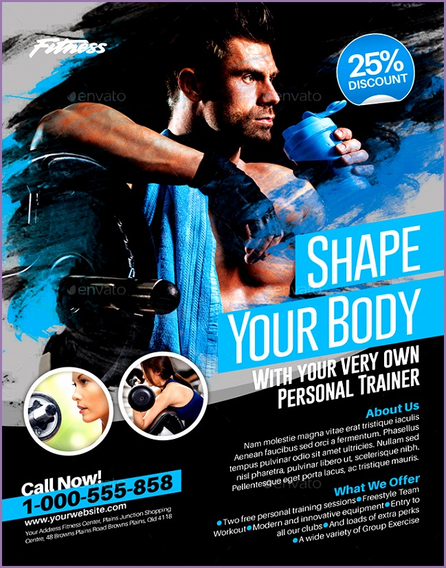 Fitness Flyer 1 US LETTER
