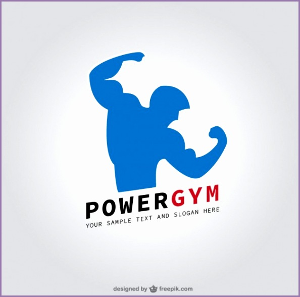 Fitness club logo Free Vector
