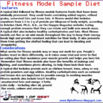 5 Fitness Model Diet Plan