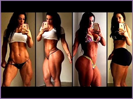 ANA COZAR Fitness Model Exercises to Build Powerful Legs Hips Thighs and Butt Spain My Fitness Girls