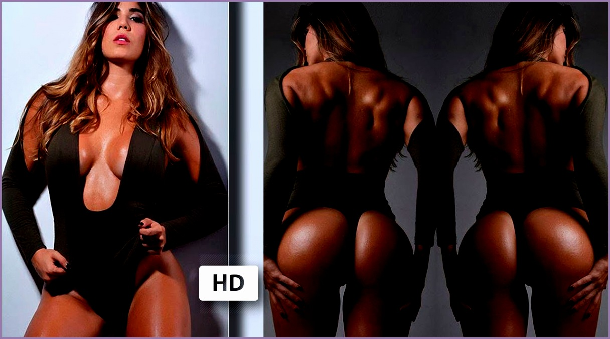 ESTEFANIA PEREIRA Colombian Fitness Model Glute Workout 6 Ways To Build Your Perfect Booty