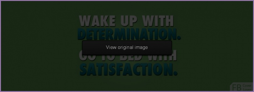Wake Up With Determination Covers More Quotes Covers for Timeline