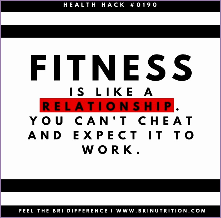 Fitness Quote 4 Fitness is like a relationship