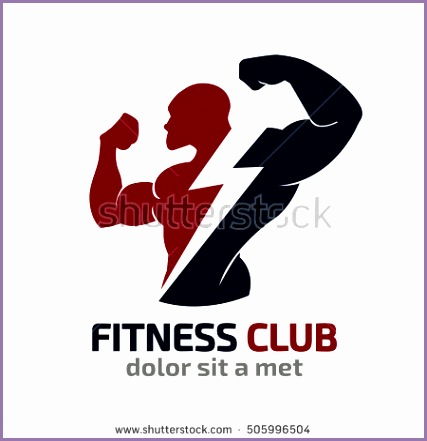 fitness vector logo design template design for gym and fitness vector