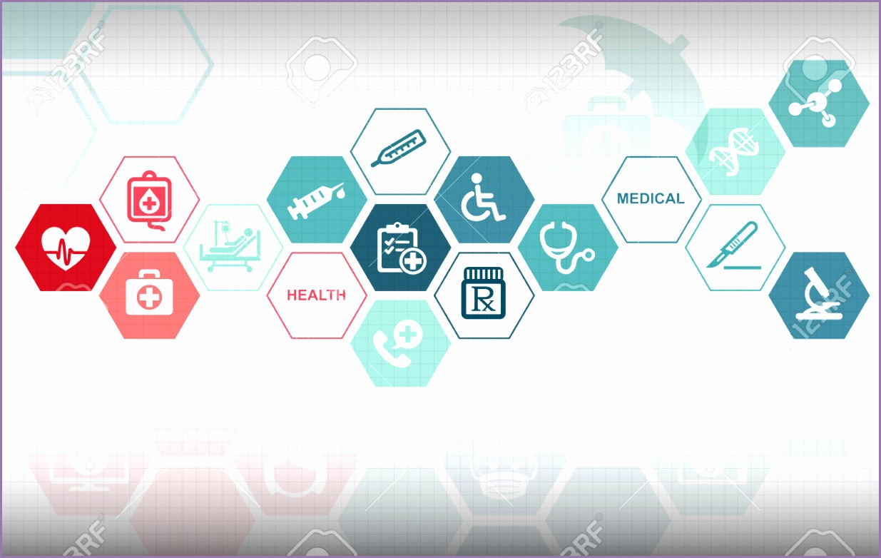 Medical Healthcare Background Stock