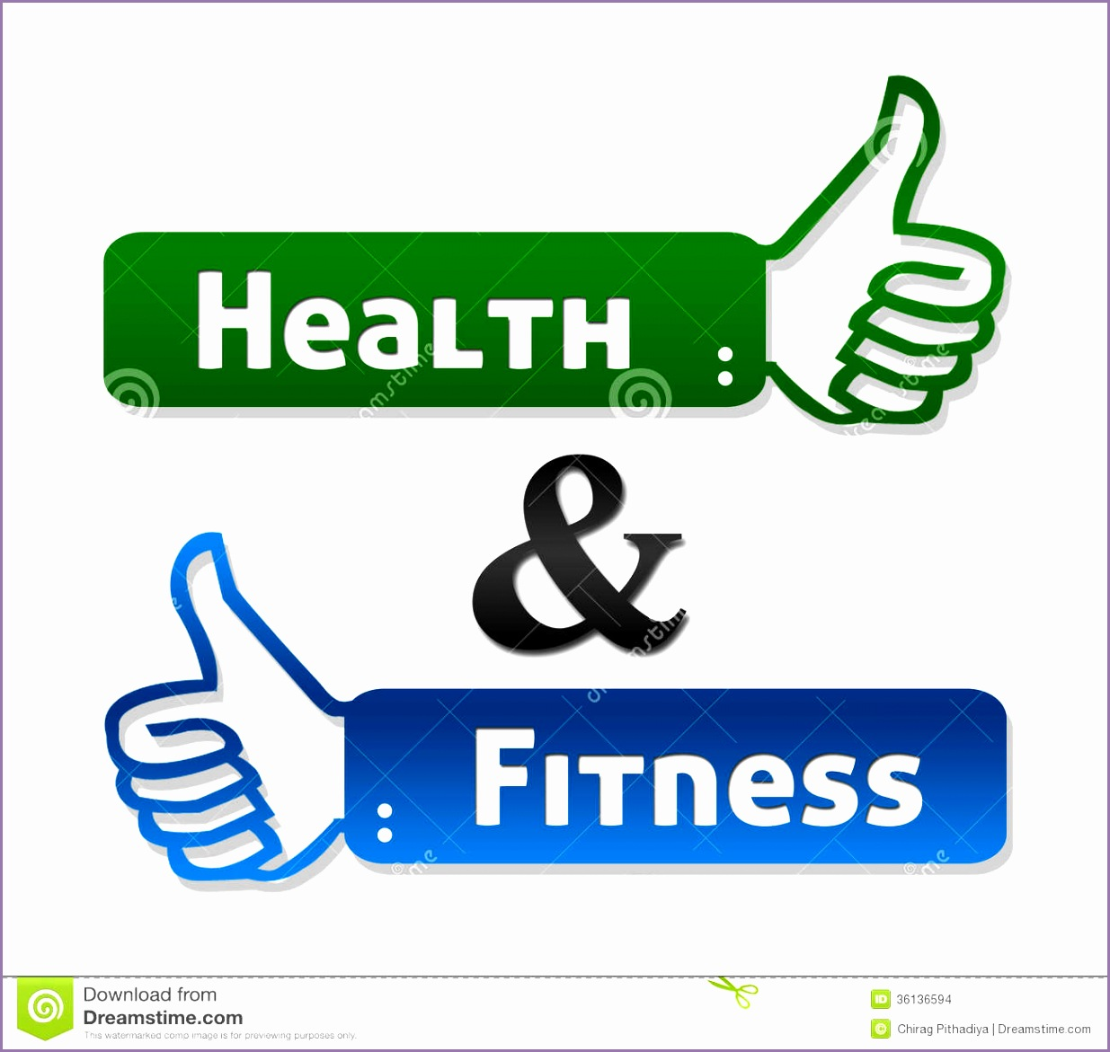 health fitness thumb up labels symbol