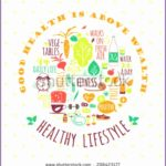 6 Healthy Life Background