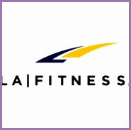 Logo of LA Fitness