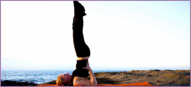 shoulder stand learn yoga online in 30 days