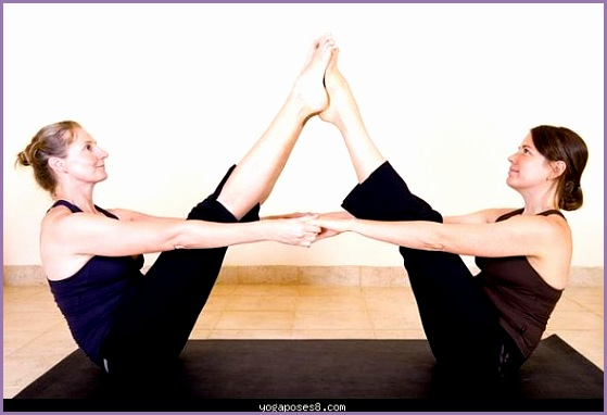 yoga poses for two
