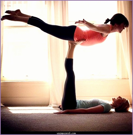 yoga poses for 2 ppl
