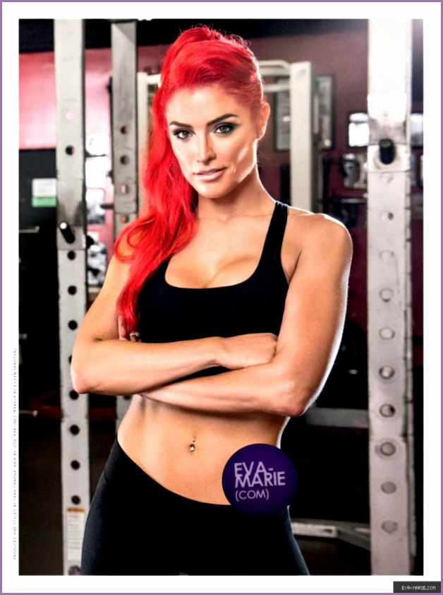 Eva Marie Muscle & Fitness Hers Magazine January February