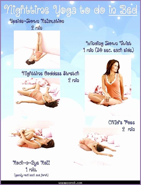 nighttime yoga to do in bed a nice little relaxer to help calm 1 2