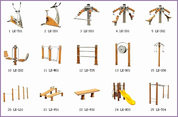Spanish Ibercolmex OUTDOOR FITNESS EQUIPMENT linda at okstarfitness