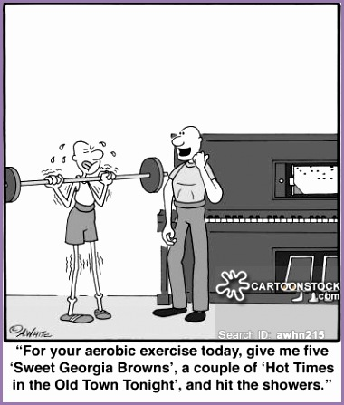 Physical Fitness cartoon 10 of 16