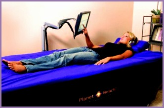 HydroMassage water massage bed in Planet Beach